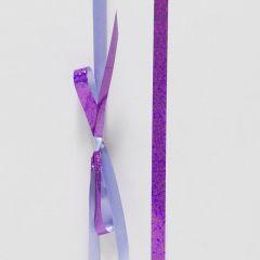 Presentband metallic turkos