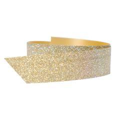 Polyband glitter guld