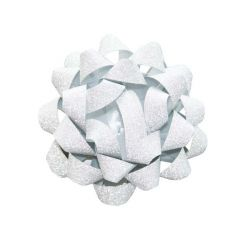 Rosett glitter silver