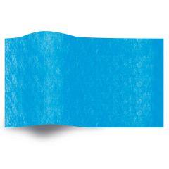 Silkespapper Enfärgat Fiesta Blue