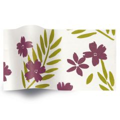 Silkespapper Botanic Lila passion