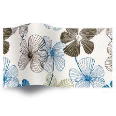 Silkespapper Botanic Flora