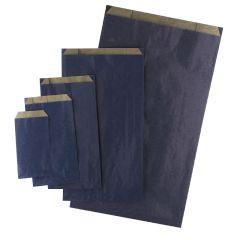 Plan papperspåse mörkblå