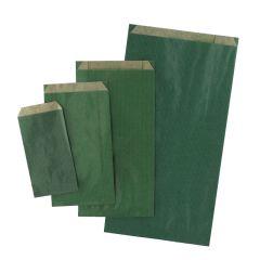 Plan papperspåse grön