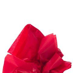 Färgat silkespapper scarlet