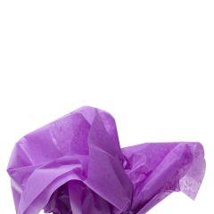 Färgat silkespapper lila