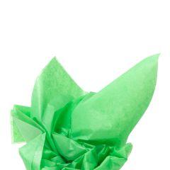 Färgat silkespapper gräsgrön
