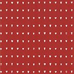 Presentpapper Hjärtan röd