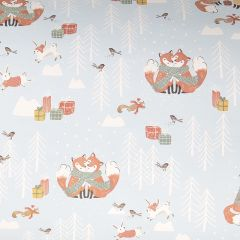 Presentpapper Knitted fox FSC