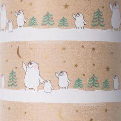 Presentpapper Polar bears