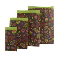 Plan papperspåse Royal brun