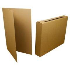 Låda för tavlor och digitala skärmar